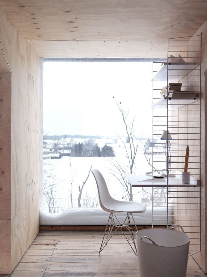 "Stylist Mette Nissen shot the catalogue for the Swedish company ""String Furniture"""
