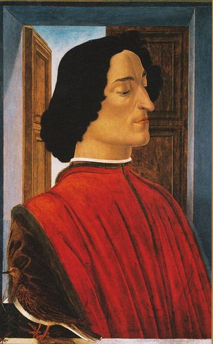 Sandro Botticelli, Bildnis des Giuliano de'Medici (Portrait of Giuliano de'Medici)