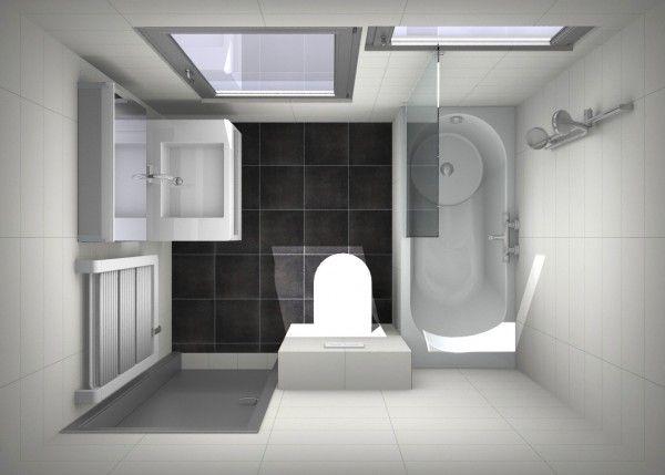 17 best images about badkamer inspiratie on pinterest toilets contemporary bathrooms and - Foto kleine moderne badkamer ...