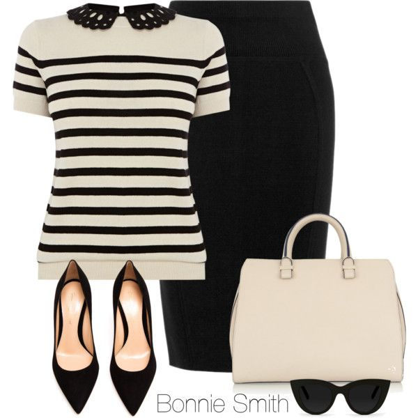 """""""Work outfit"""" by bonnaroosky on Polyvore"""