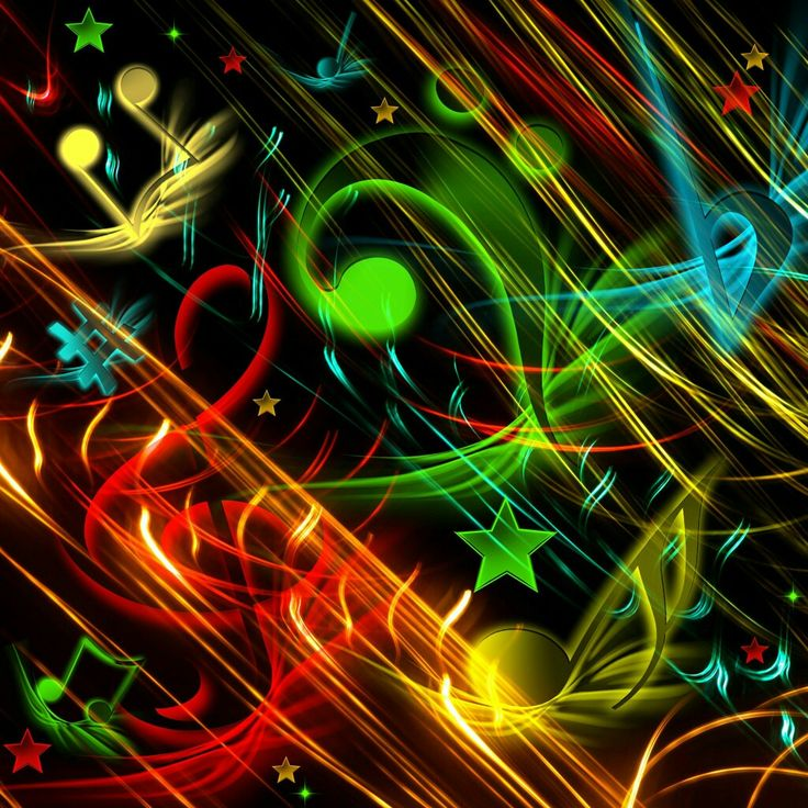 Music Symbols Wallpaper Background With The Image Of Musical