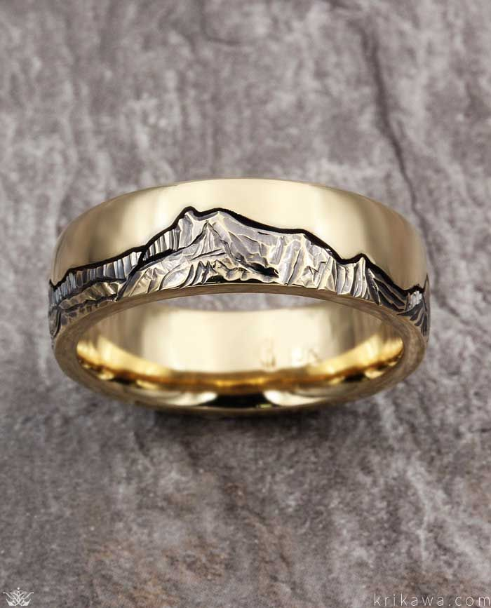 Mountain Wedding Bands Krikawa Unique Diamond Engagement Rings Vintage Engagement Rings Unique Vintage Engagement Rings