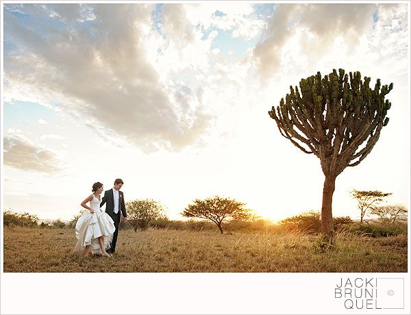 really cool South African wedding!
