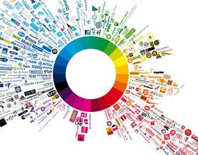 The Blog Of Lynne Door Logo Color Wheel Art Logos Logo Color