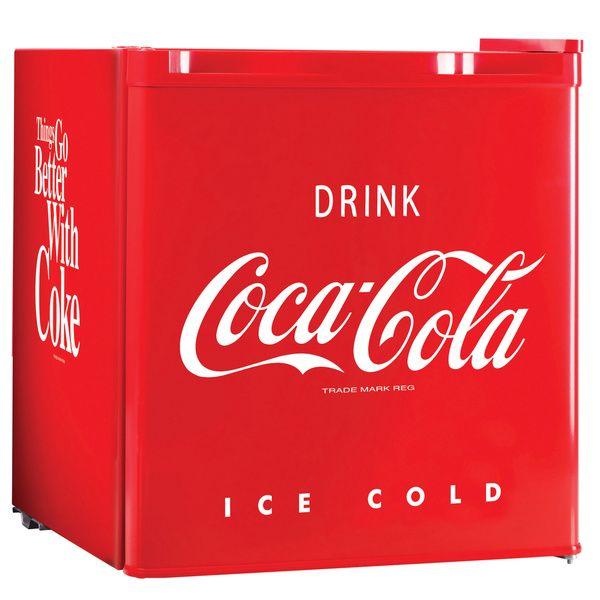 Nostalgia Electrics Coca-Cola Series CRF170COKE 20.4-inch Mini Fridge | Overstock.com Shopping - The Best Deals on Refrigerators