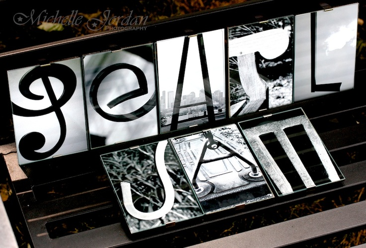 PEARL JAM Alphabet Photography:  Framed, signed, numbered & available for purchase:)