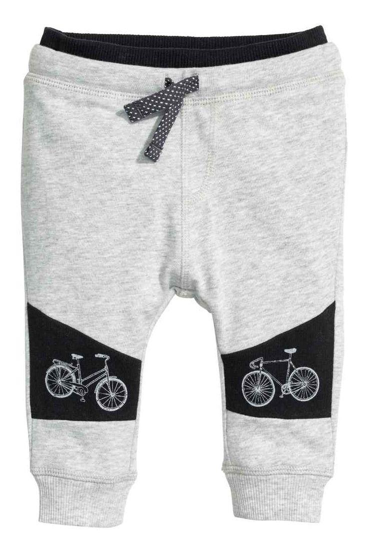 Teplákové kalhoty s potiskem | H&M