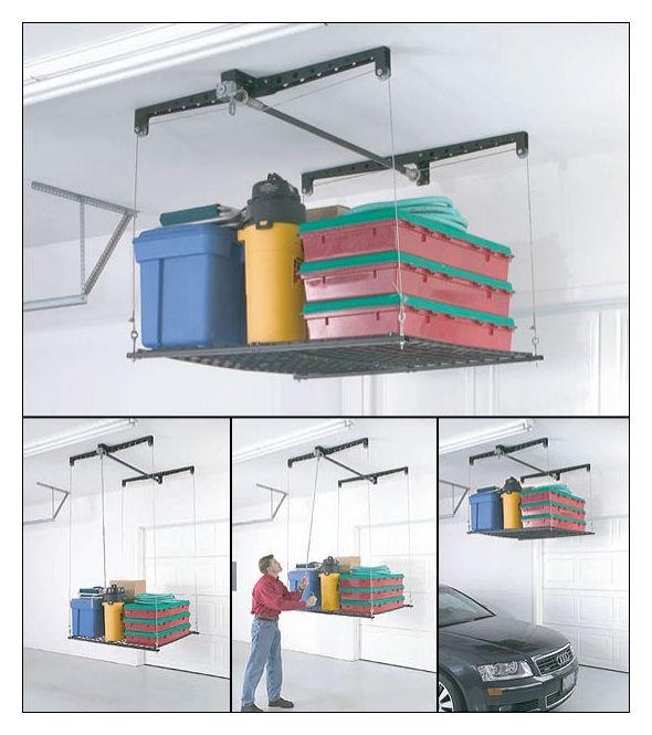 Ideas about garage ceiling storage on pinterest