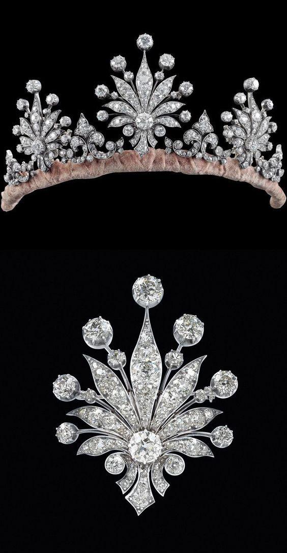 Nora's Diamond Tiara; Worn At: 2016 Liechtenstein National Day State Banquet