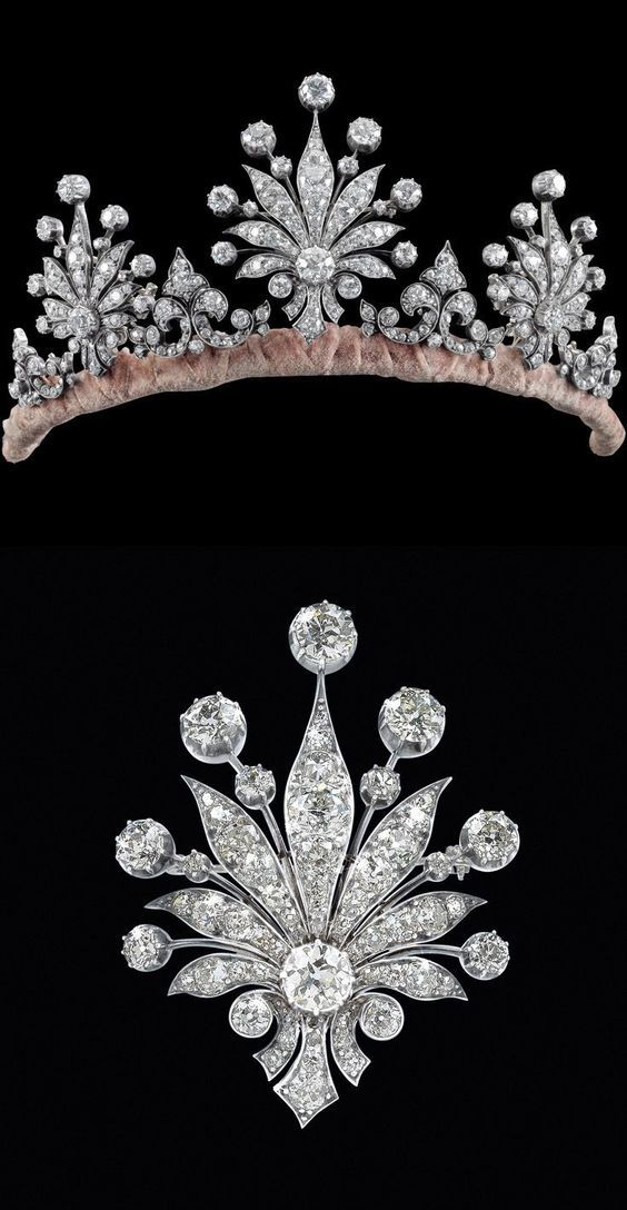 Nora's Diamond Tiara; Worn At: 2016 Liechtenstein National Day State Banquet