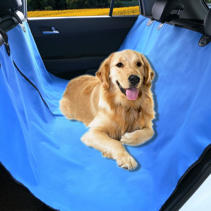 Pet Seat Cover for Car Seats - Hammock Style Cover - Large