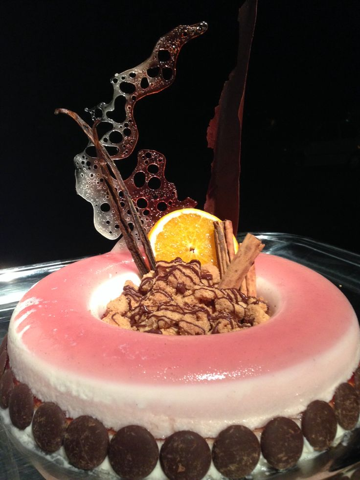 Special Cake Made by Alessandro Gandi from Il Boschetto