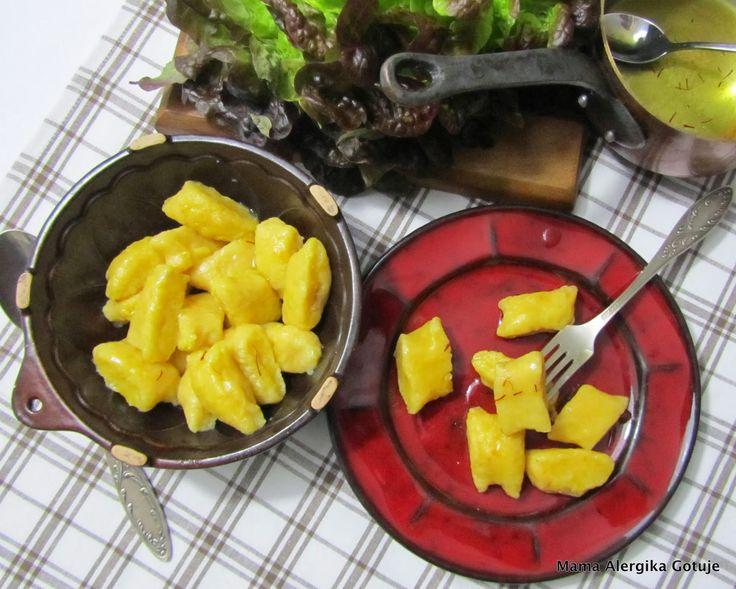 Kopytka z ziemniaków i dyni