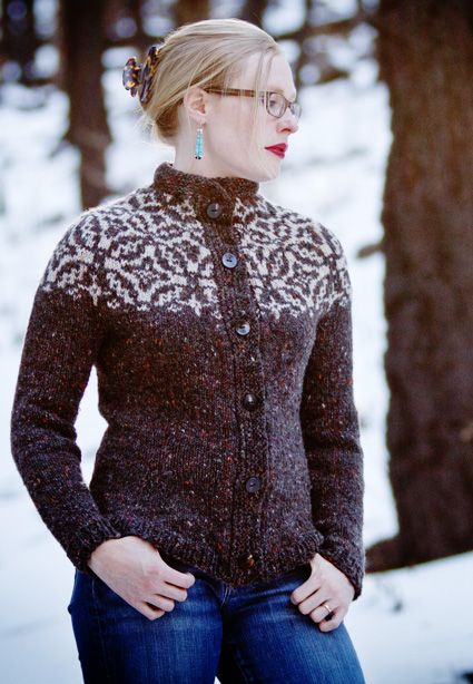 362 best FairIsle Yoke Sweaters images on Pinterest | Knitting ...