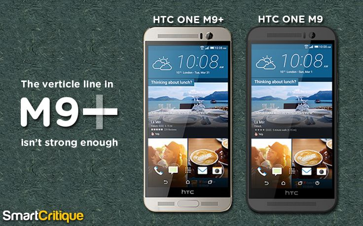 The HTC's effort of refining HTC One M9 + android smartphone calls for more factors that can fit the device into improved section specifications offered.