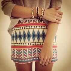 saia waisted alta boêmia do vintage  é uma saia cintura alta com fluxo de impressão tribal asteca. (aztec tribal skirt)--------------------Para Mais Informações e Dicas envie Mensagem para: ownerstyle.mk@gmail.com  For More Information and Tips send message to: ownerstyle.mk@gmail.com