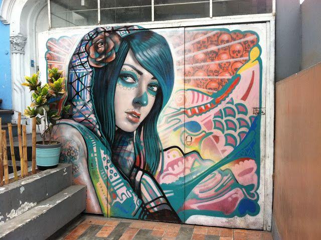 street art Lima, Peru