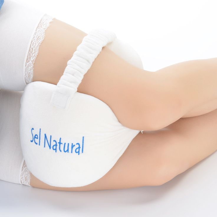 Knee Pillow, Leg Pillow for Back Pain, Memory Foam Leg Pillow for Sciatica Pain Relief, Leg Pain, Pregnancy, Hip and Joint Pain