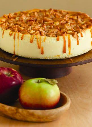 Apple Caramel Cheesecake de Cheesecake Mania Pedidos al 809.973.5655 ó chezcakemania@hotmail.com