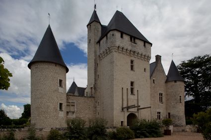Château du Rivau, Loire Valley, France (15th century)