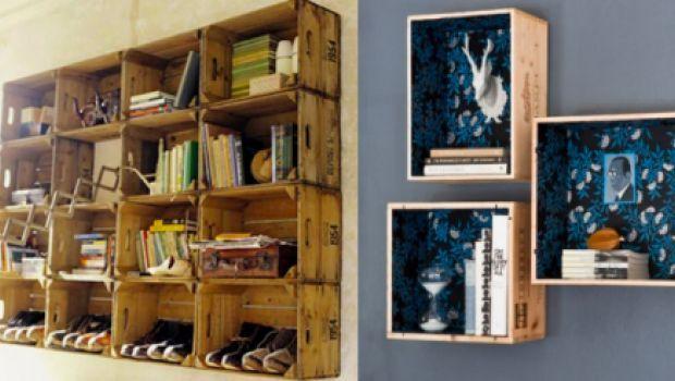 C mo hacer muebles reciclados mesa baja y estanter a con for Muebles reciclados ideas