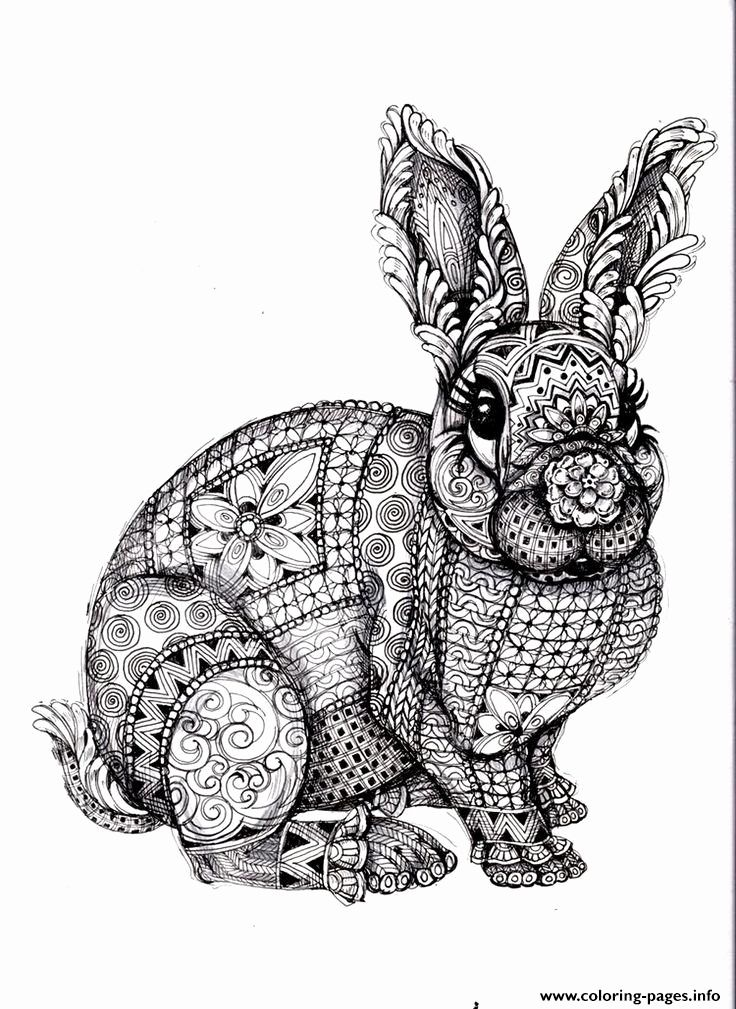 Difficult Coloring Pages Of Animals Lovely Adults Difficult Animals Coloring Pages Printable Animal Coloring Pages Mandala Coloring Pages Mandala Coloring
