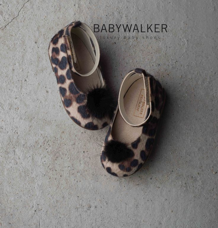 Animal Print handcrafted by BABYWALKER Made in Greece since 1968