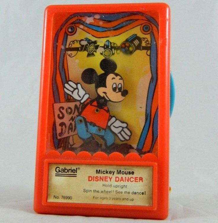 Vintage Mickey Mouse Disney Dancer Works Great 1975 Hong Kong No. 76990 Toy  #GabrielIndustries