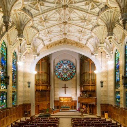 Smithfield United Church of Christ - Cathedrals - Visit the oldest house of worship in town and see the stunning stained glass window of Smithfield United Church of Christ
