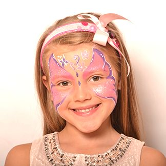 Butterfly - AnimalsFace Paint Ideas - How to Face Paint | Snazaroo