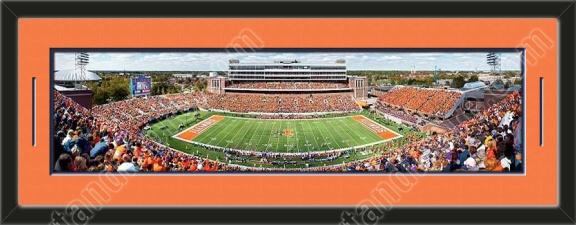 One Framed Large University Of Illinois Stadium Panoramic