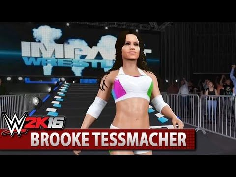 WWE 2K16 Community Showcase: Brooke Tessmacher (Xbox One)