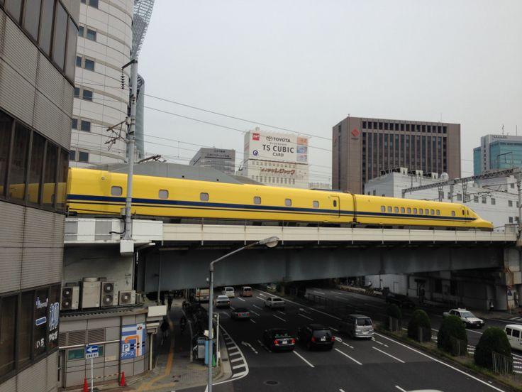 ドクターイエロー 黄色い新幹線