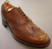 Wingtips are the only dress shoe a man should wear...