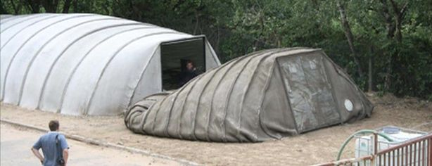 CONCRETE ZOMBIE SURVIVAL TENT | Zombie Research Society