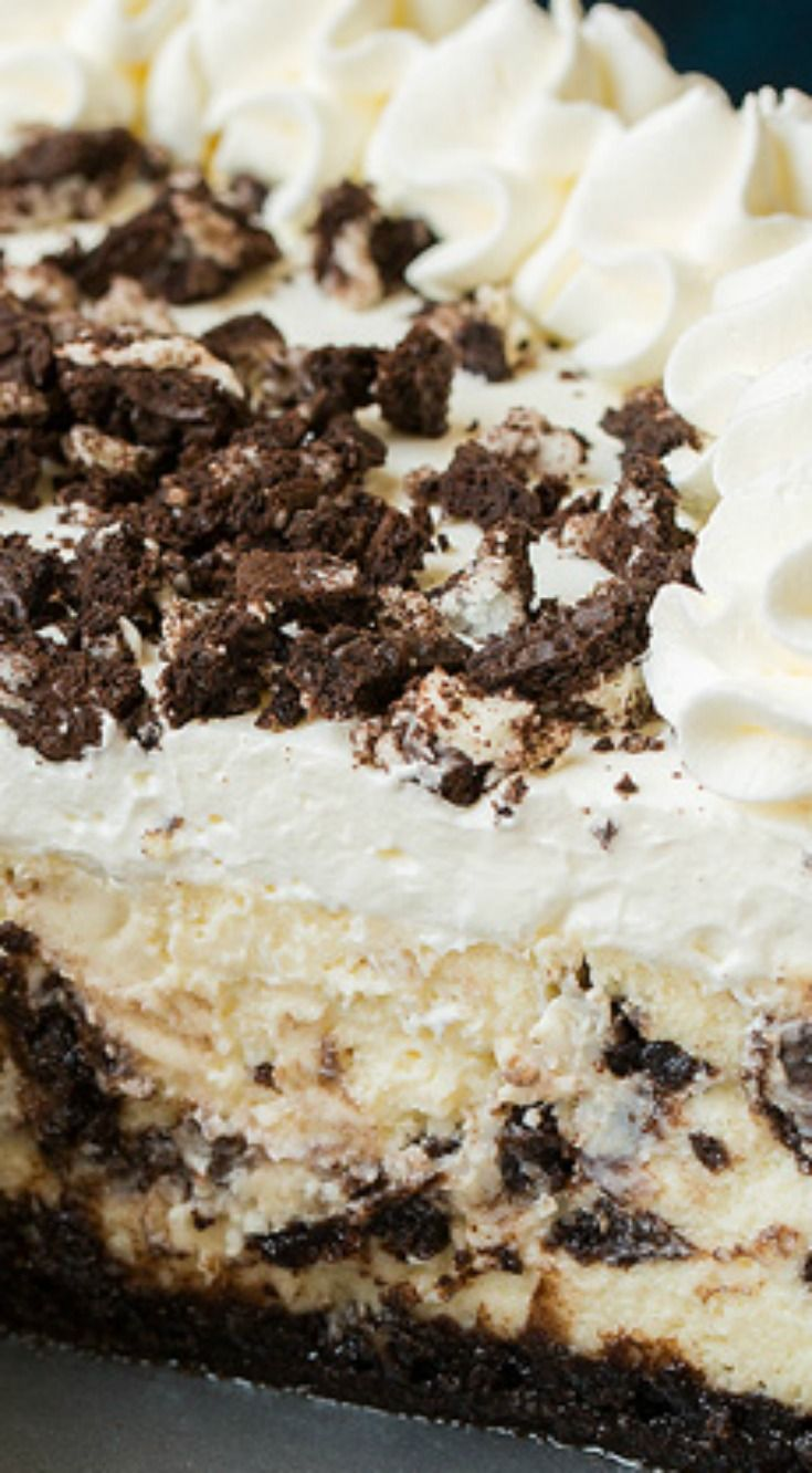 Cookies 'N Cream Cheesecake ~ So delicious!