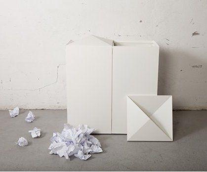 Fold källsortering avfallshantering återvinningskärl returkärl skräp