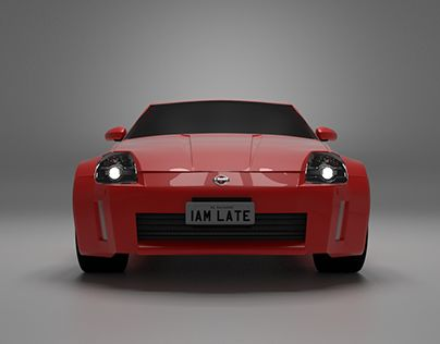 "Check out new work on my @Behance portfolio: ""Nissan 350Z 