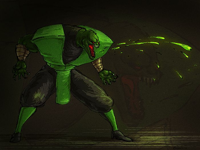 51 best images about Mortal Kombat: Reptile on Pinterest ...