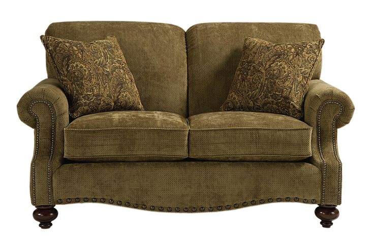 Club Room Traditional Love Seat by Bassett - AHFA - Love Seat Dealer Locator