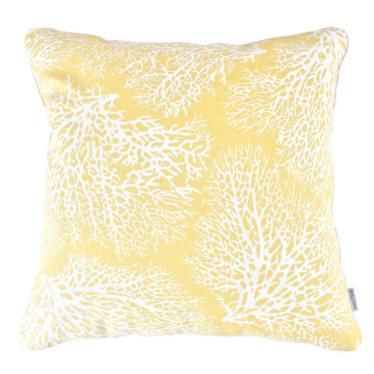 Sunny Coral  #mialiving #pillows #cushions