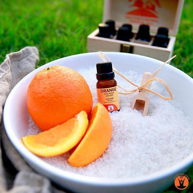 Sweet Orange - Essential Oil - 100% Pure & Natural Therapeutic Grade