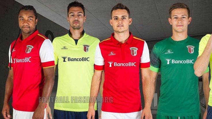 SC Braga 2015 2016 Lacatoni Home and Away Football Kit https://www.crets4bets.com/