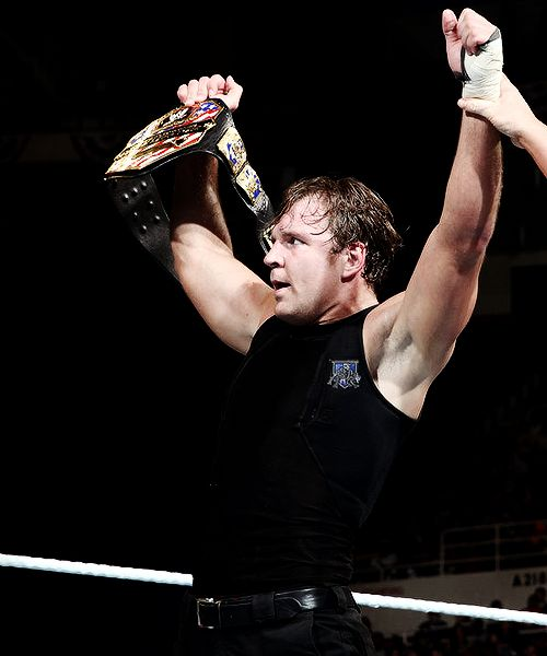 Dean Ambrose Definition... The Sexiest Lunatic Ever... Occupation: Haunting Sell Out Seth For As Long As He's In WWE<3