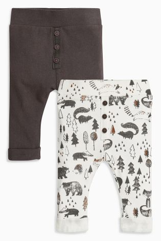 Buy Multi Printed Joggers Two Pack (0mths-2yrs) online today at Next: United States of America