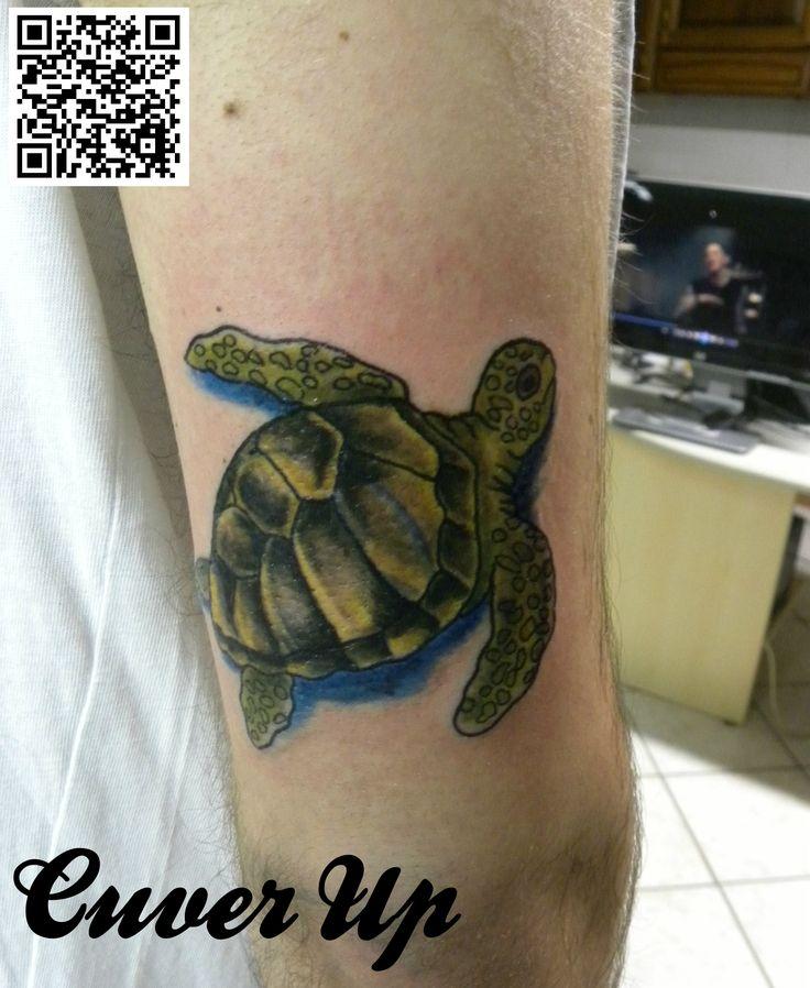 #tartaruga #cuverup # colorstattoo #tatuaggio #montefortetattoo2016