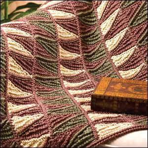 crochet throws patterns | And, besides, you *do* turn your work with double-ended Tunisian ...