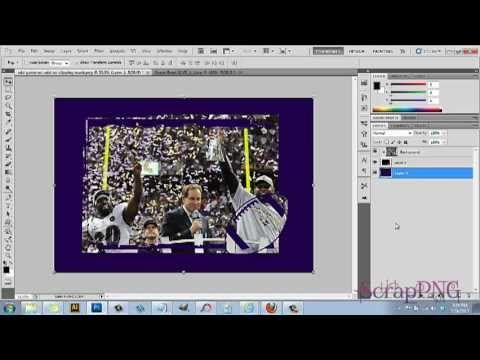 how to create a clipping mask in photoshop cs4