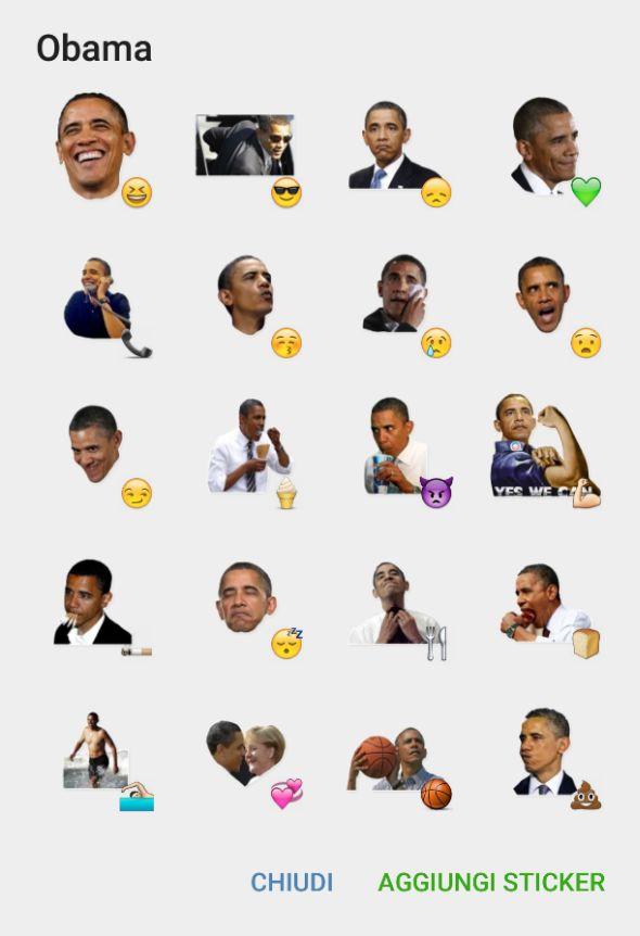 Barack Obama | Telegram Stickers pack