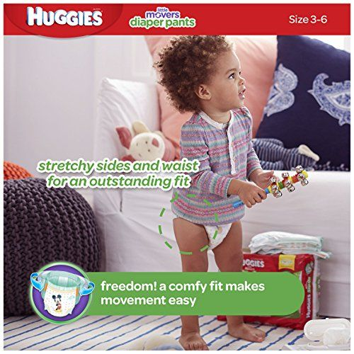 HUGGIES Little Movers Diaper Pants Size 5 128 Count